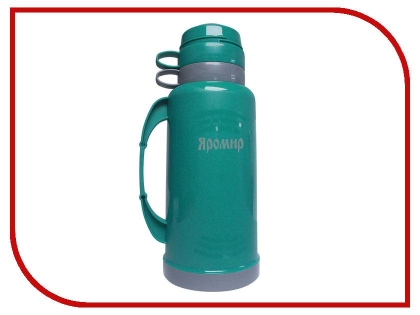 Термос Яромир ЯР-2021С 1.8L Turquoise-Grey