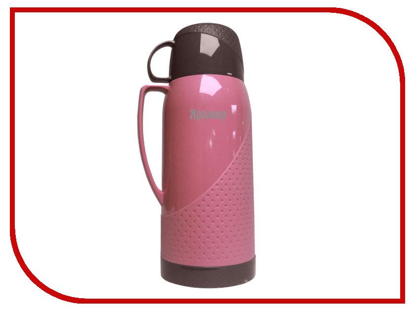 Термос Яромир ЯР-2023С 1.8L Pink-Brown