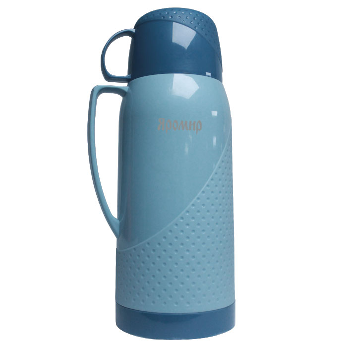 Термос Яромир ЯР-2023С 1.8L Grey-Blue