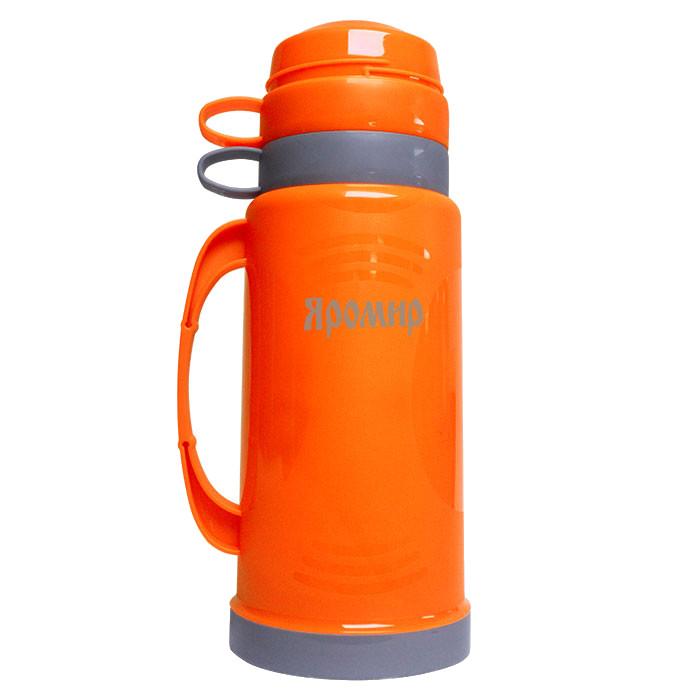 Термос Яромир ЯР-2020С 1L Orange-Grey цена и фото