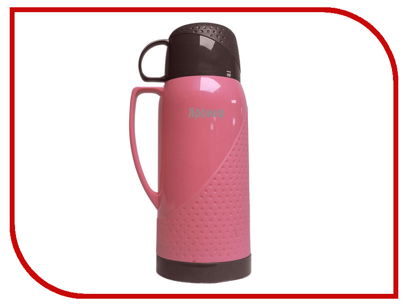 Термос Яромир ЯР-2022С 1L Pink-Brown