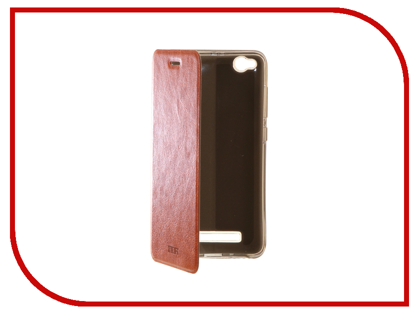 Аксессуар Чехол Xiaomi Redmi 4A Mofi Vintage Brown 15539 mofi защитный чехол для xiaomi 6