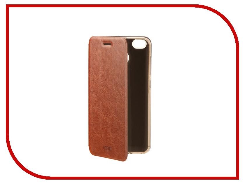 Аксессуар Чехол Xiaomi Redmi 4X Mofi Vintage Brown 15538 mofi защитный чехол для xiaomi 6