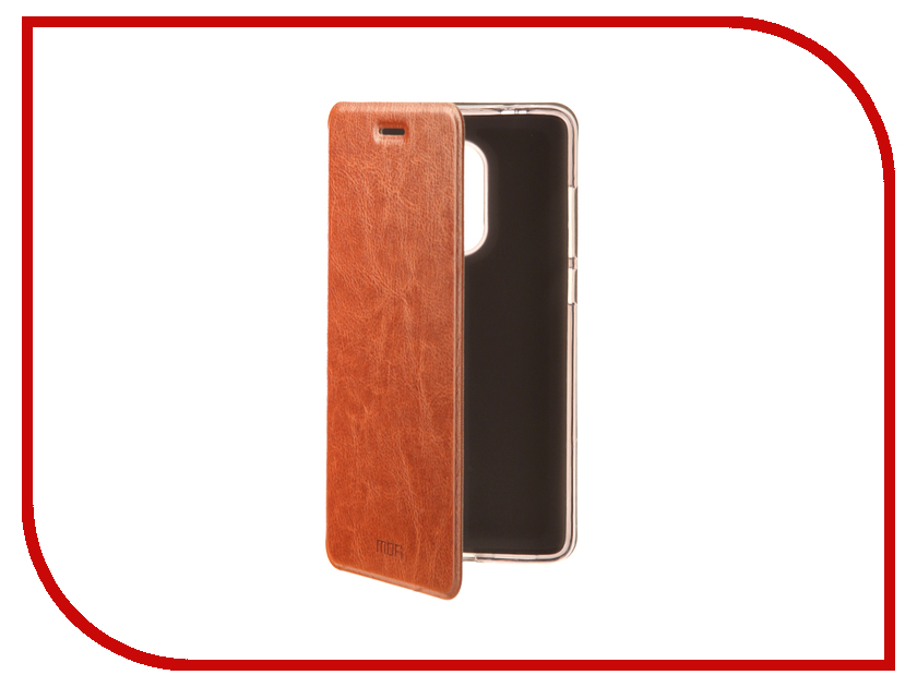 Аксессуар Чехол Xiaomi Redmi Note 4/Note 4X Mofi Vintage Brown 15535 цена