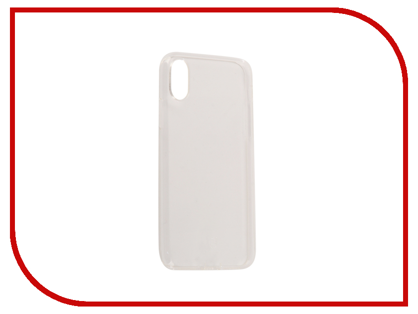 Аксессуар Чехол Baseus Simple With Pluggy TPU для APPLE iPhone X Transparent ARAPIPHX-A02 baseus simple series clear thin tpu cover for apple watch 38mm transparent
