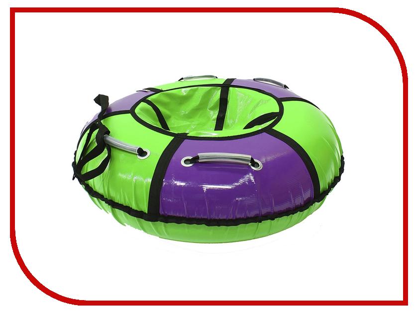 Тюбинг SnowShow Практик 105cm Purple-Light Green dinosaur style led purple light keychain w sound effect green white 3 x ag10