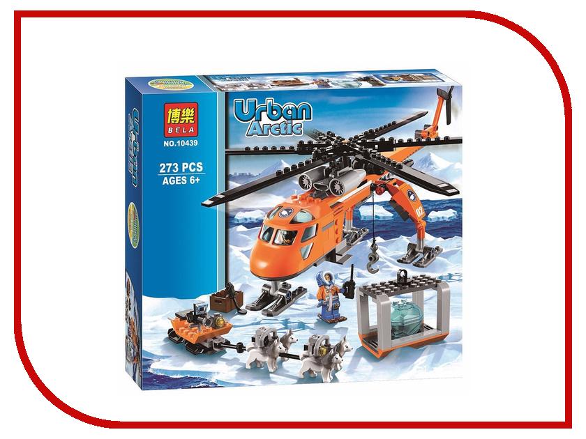Конструктор Bela Арктический вертолёт 60034 / 10439 pogo lepin bela 10439 arctic helicopter transport rescue team urban police city building blocks bricks toys compatible legoe