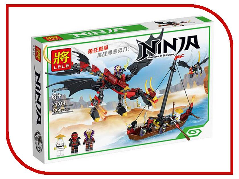 Конструктор Lele Ninja Нападение злого дракона 329 дет. 31014 контратака лучшая защита нападение