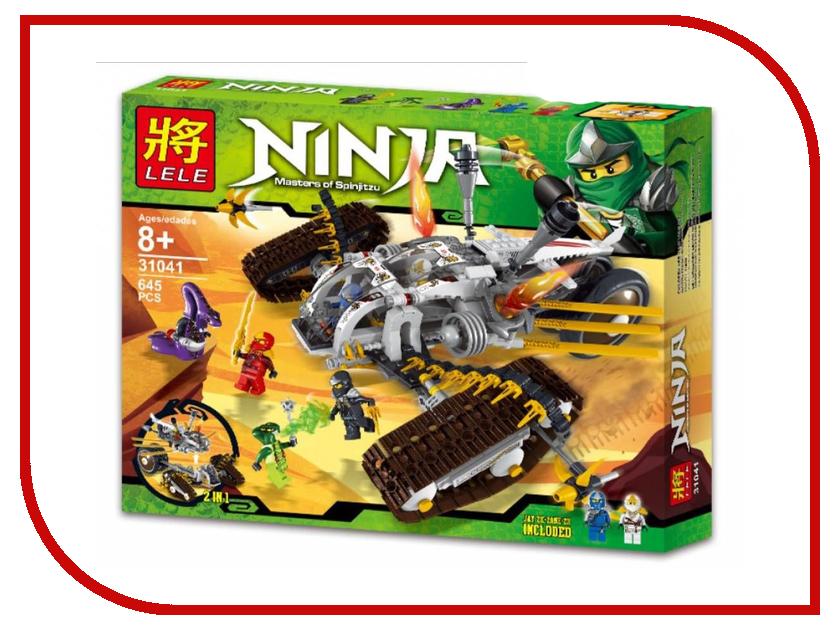 Конструктор Lele Ninja Сверхзвуковой самолет 645 дет. 31041 конструктор bela ninja ниндзя сверхзвуковой рейдер 645 дет 31041