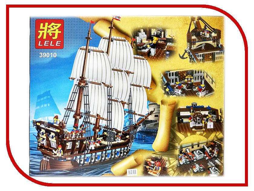 Конструктор Lele Pirates Имперский флагман 1779 дет. 39010 флагман флотилии выжить вопреки