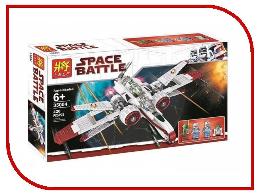 Конструктор Lele Space Battle Звездный истребитель ARC-170 Starfighter 420 дет. 35004 конструктор crystaland shg006 истребитель 4 в 1 67 дет