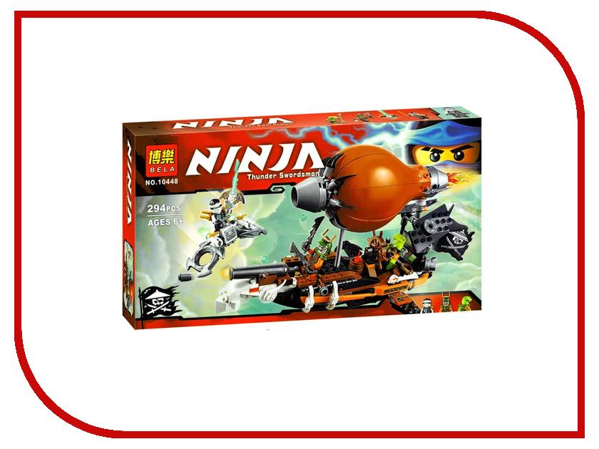 Конструктор Bela Дирижабль-штурмовик 70603 / 10448 конструктор lego ninjago дирижабль штурмовик 70603