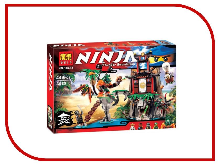 Конструктор Bela Ninja Остров тигриных вдов 449 дет. 10461 конструктор bela disney ледяной замок эльзы 297 дет 10435