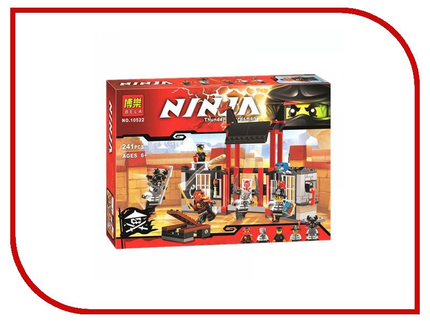 Конструктор Bela Ninja Побег из тюрьмы Криптариум 241 дет.10522 lego ninjago конструктор побег из тюрьмы криптариум 70591