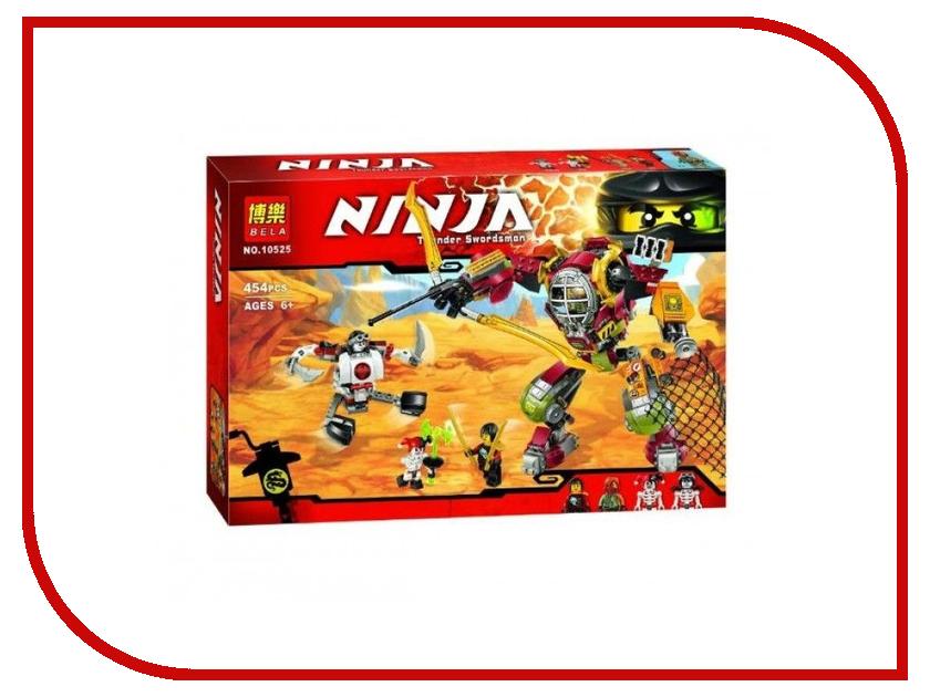 Конструктор Bela Ninja Робот-спасатель 454 дет. 10525 755pcs bela 10325 ninja db x nya pythor kai masters of spinjitzu ninja building block toys compatible with lego