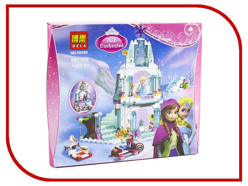 Конструктор Bela Disney Ледяной замок Эльзы 297 дет. 10435 конструктор bela disney ледяной замок эльзы 297 дет 10435