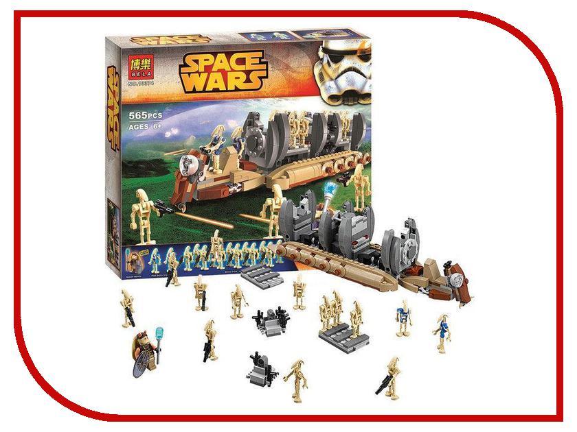 Конструкторы Перевозчик боевых дроидов  Конструктор Bela Space Wars Перевозчик боевых дроидов 565 дет. 10374