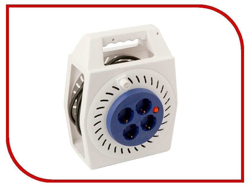 Удлинитель Сетевой фильтр Willmark E04-2000 White/Blue
