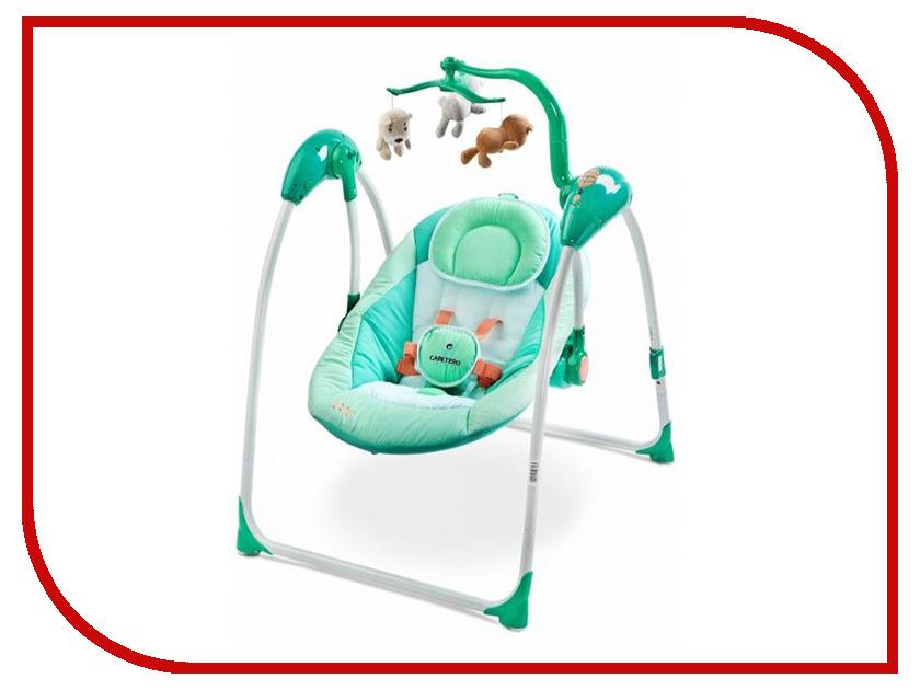 Электрокачели Caretero Loop Mint Tero-8087 стульчик для кормления caretero pop green зеленый tero 7264