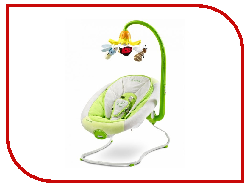 Кресло-шезлонг Caretero Blossom Green Tero-8068