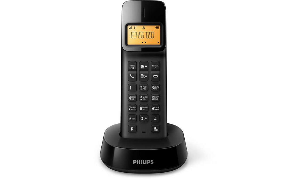 Радиотелефон Philips D1401 радиотелефон