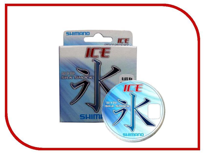Леска Shimano Ice Silkshock 0.06mm 50m 0.65kg ICE5006