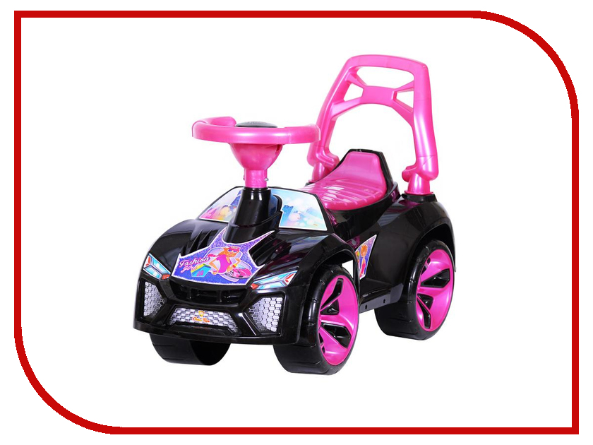 Каталка Orion Toys Ламбо Гламур ОР021кЧД каталка orion toys каталка джипик полиция 105 пол