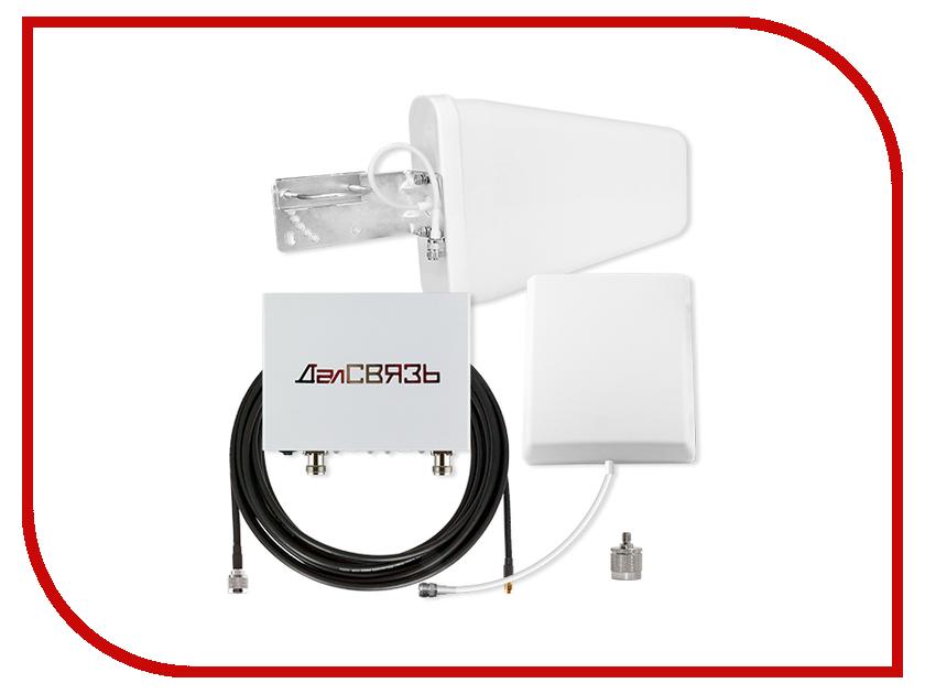 ДалСвязь DS-1800/2100-17C2 усилитель сигнала сотовой gsm связи далсвязь ds 900 1800 17 c1