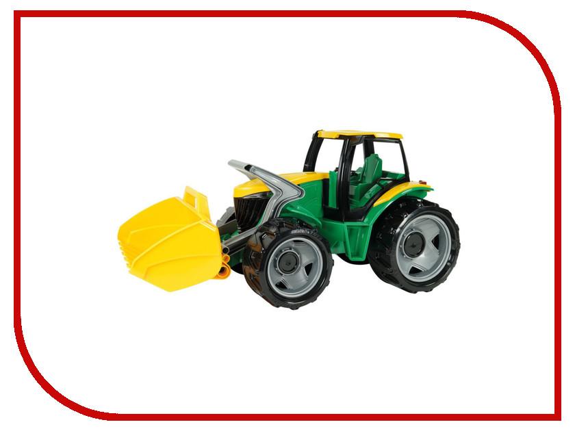 Игрушка Лена Трактор с грейдером и ковшом Yellow-Green 02057 игрушка siku трактор с ковшом 9 7 7 8 3 6см 1356