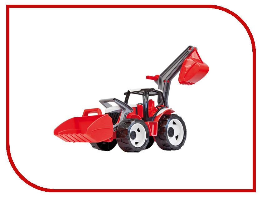 Машина Лена Трактор с грейдером и ковшом Red-White 02081 лена ребе еврейская рапсодия