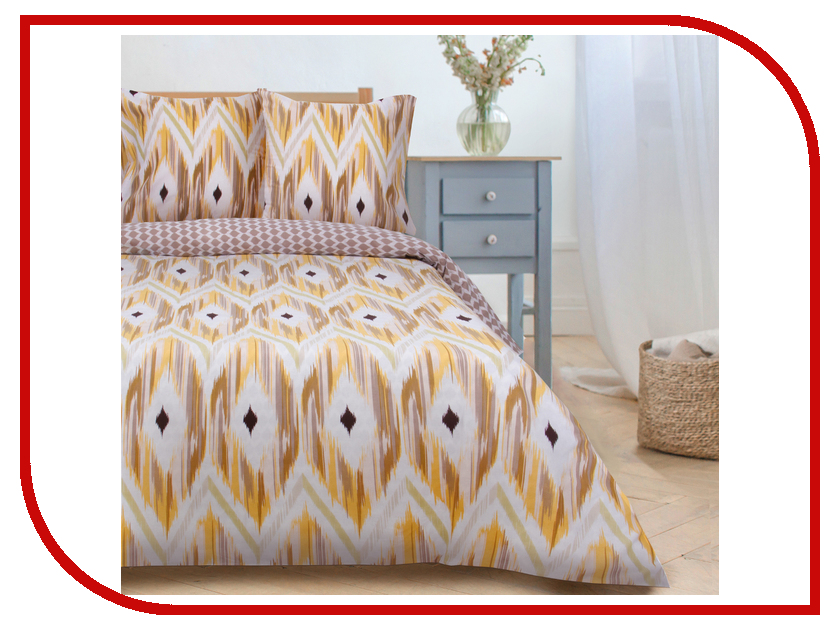 Постельное белье Этель Геометрия Комплект 2 спальный Поплин 2670966