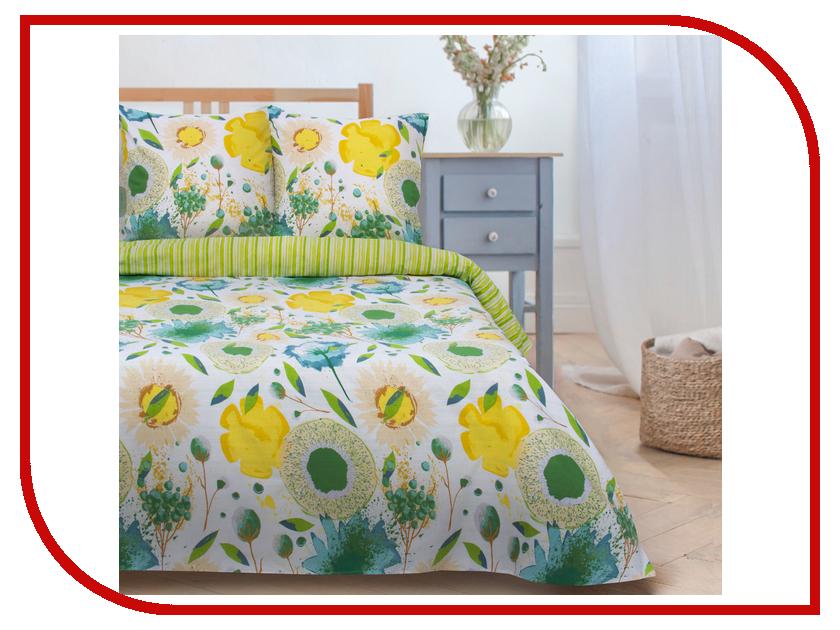 Постельное белье Этель Акварель Комплект 1.5 спальный Поплин 2670973 постельное белье этель зеленый сад комплект 1 5 спальный поплин 1534721