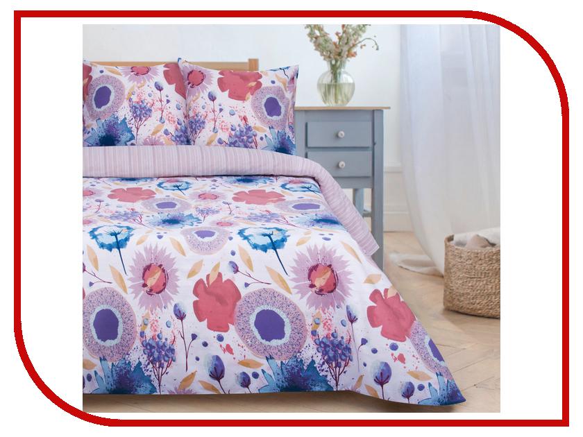 Постельное белье Этель Акварель вид 2 Комплект 1.5 спальный Поплин 2670969