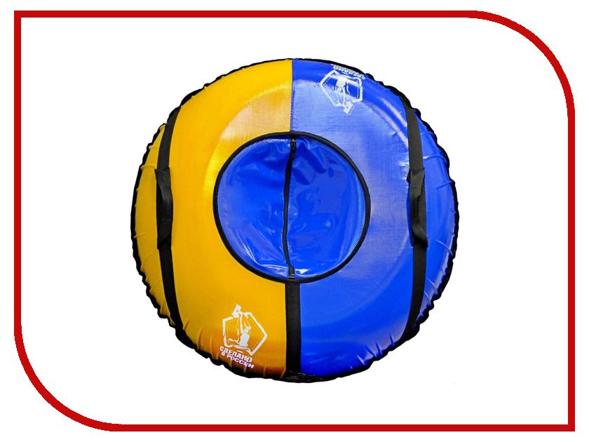 Тюбинг RT Сделано в России 100см Blue-Yellow asus rt n11p маршрутизатор