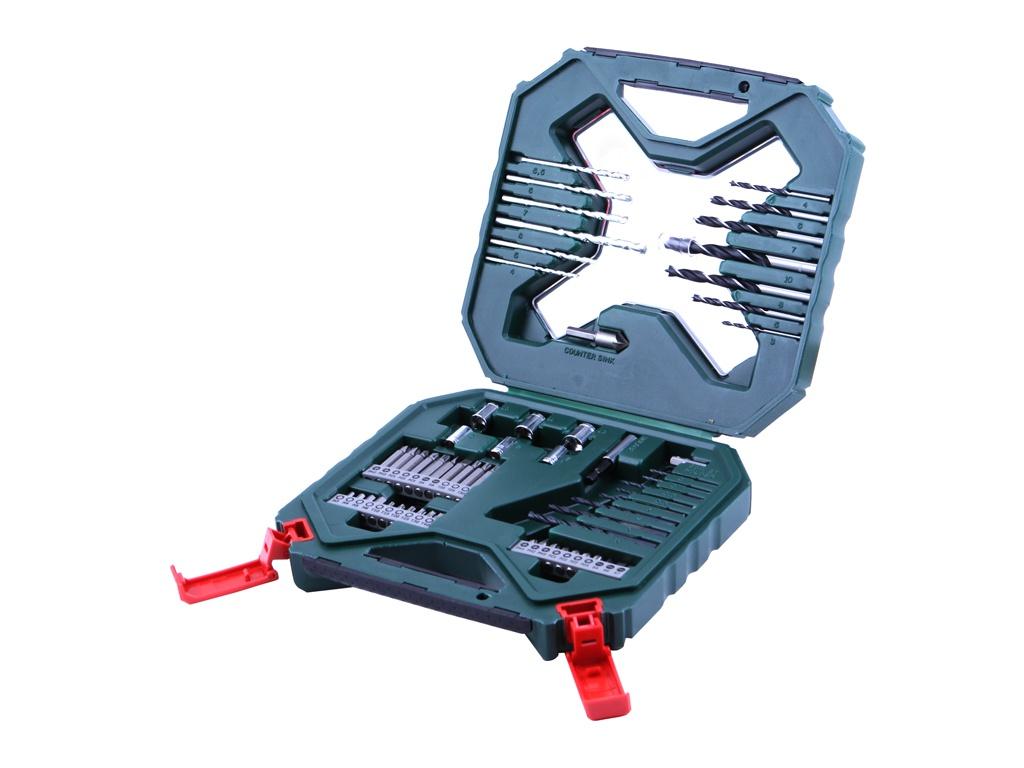 Набор сверл и бит Bosch X-Line-60 2607010611 набор сверл и бит bosch x line 70 70 предметов 2607019329