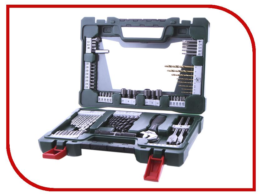 Набор инструмента Bosch V-Line-83 83 предмета 2607017193 набор инструмента bosch x line 103 2607019331