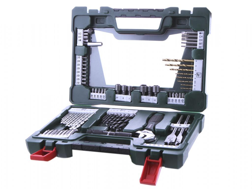 Набор инструмента Bosch V-Line-83 83 предмета 2607017193 цена и фото