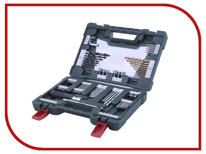 Набор инструмента Bosch V-Line-91 91 предмет 2607017195 набор инструментов bosch v line 48 х6 в дисплее 2607017303