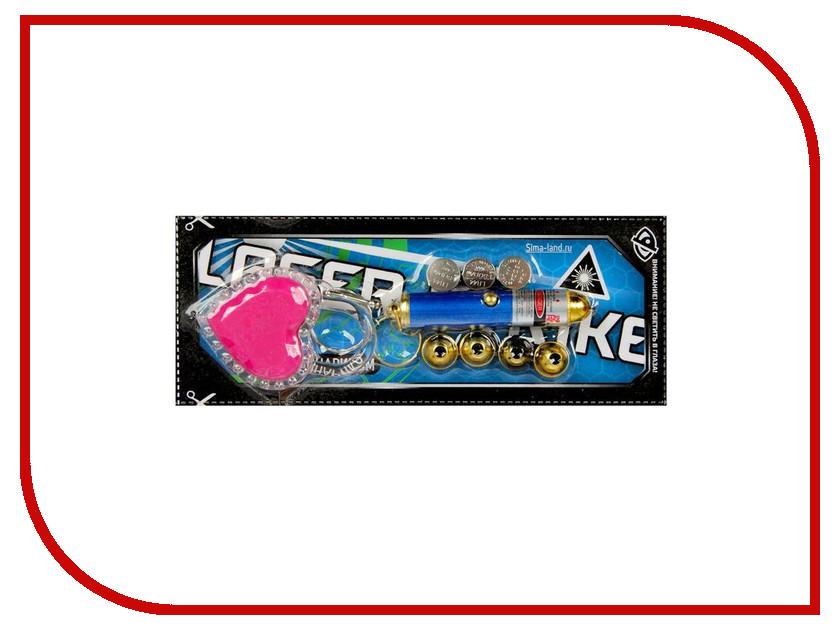 Лазерная указка СИМА-ЛЕНД Сердечко замочек 1505341 лазерная указка hama lp16 3516