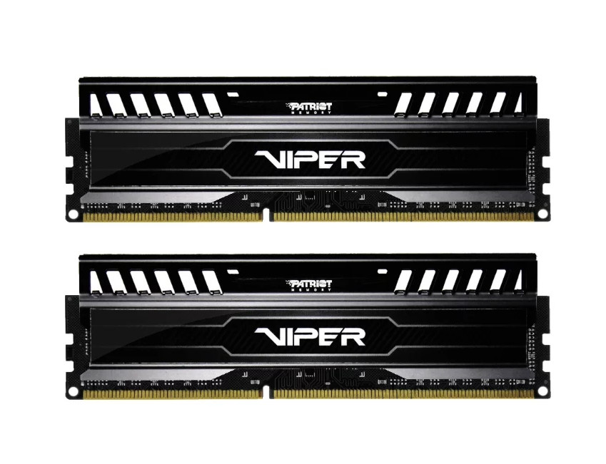 Модуль памяти Patriot Memory Viper DDR3 DIMM 1866Mhz PC3-14900 CL10 - 16Gb KIT (2x8Gb) PV316G186C0K