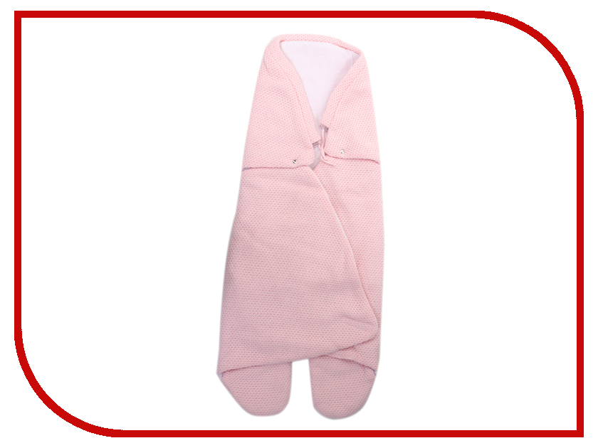 Конверт EKO Рис Pink SP-23 конверт eko вязанный рис флисовая подкладка 90x45 см серый sp 20