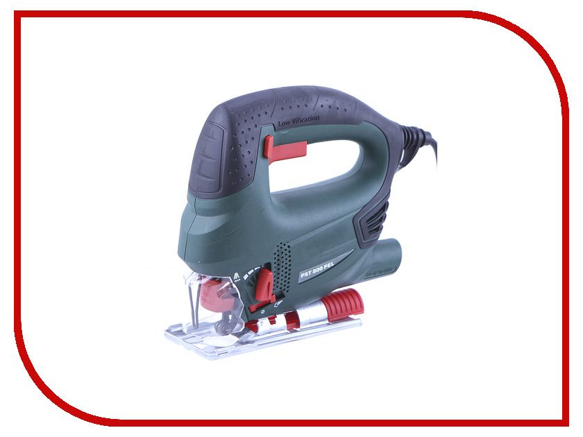 Лобзик Bosch PST 800 PEL Compact (10 пилок) 06033A0101 pst 750 pe bosch цена