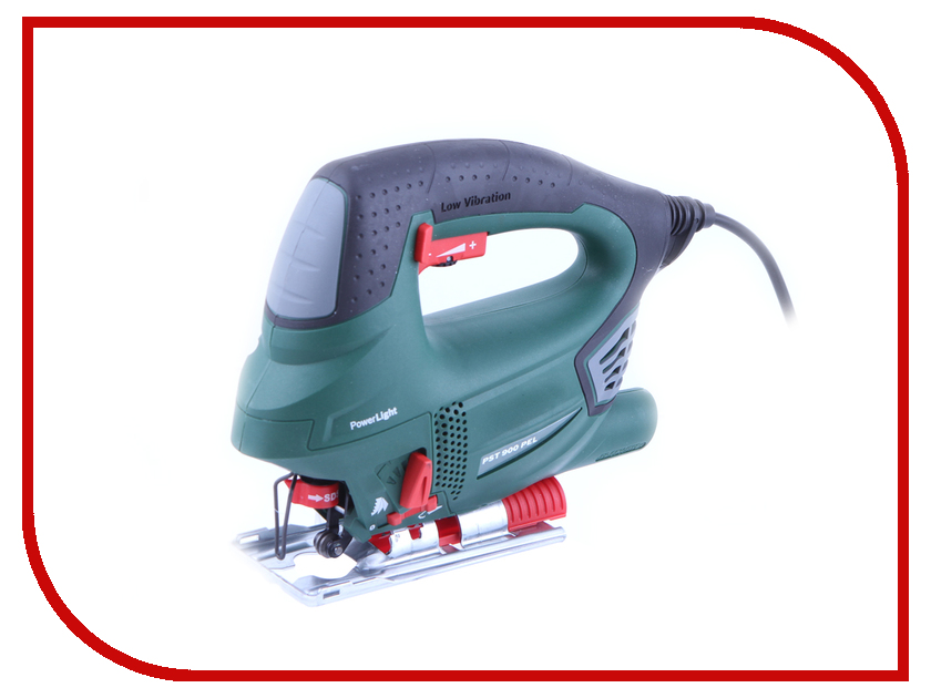 Лобзик Bosch PST 900 PEL (10 пилок) 06033A0201 pst 750 pe bosch цена