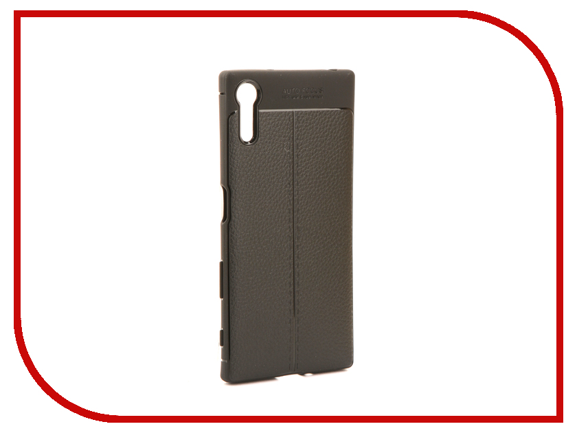 Аксессуар Чехол для Sony Xperia XZ Activ The Ultimate Experience Leather Black 75654