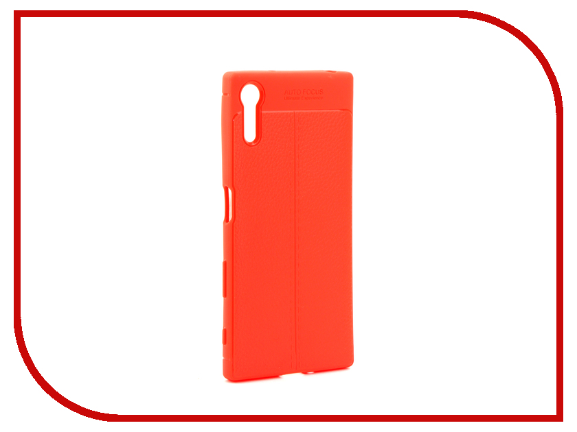 Аксессуар Чехол Sony Xperia XZ Activ The Ultimate Experience Leather Red 75656