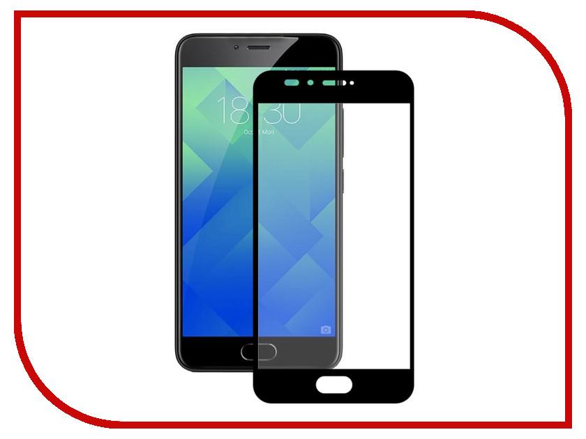 Аксессуар Закаленное стекло Meizu M6 DF Full Screen mzColor-18 Black аксессуар закаленное стекло df isteel 06 для iphone 6