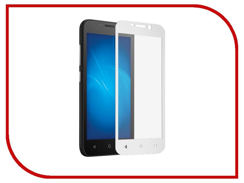 Аксессуар Закаленное стекло Huawei Honor Y5C DF Full Screen hwColor-16 White аксессуар закаленное стекло df full screen для iphone 7 plus 8 plus icolor 16 white