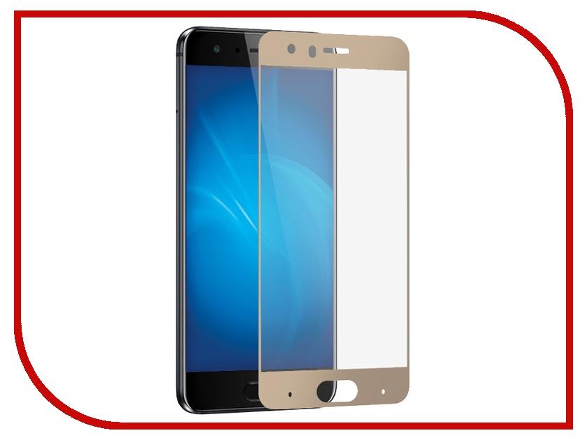 Закаленное стекло для Honor 9 DF Full Screen hwColor-20 Gold аксессуар закаленноестеклодляhonor9
