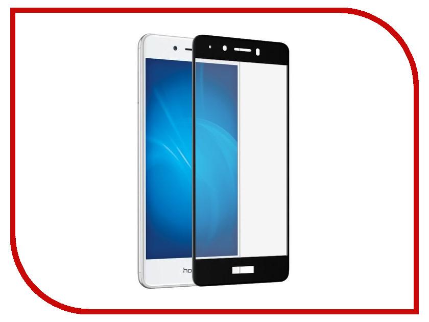 Аксессуар Закаленное стекло для Huawei Honor 6C Pro DF Full Screen hwColor-22 Black аксессуар закаленное стекло для huawei honor 6x df full screen hwcolor 06 black