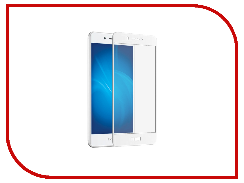 Аксессуар Закаленное стекло для Huawei Honor 6C Pro DF Full Screen hwColor-22 White for lenovo zuk z2 lcd screen display with touch screen digitizer panel glass assembly black white replacement parts free shipping